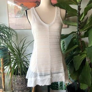 Vintage Havana Size Medium 8 10 White Stripe Top
